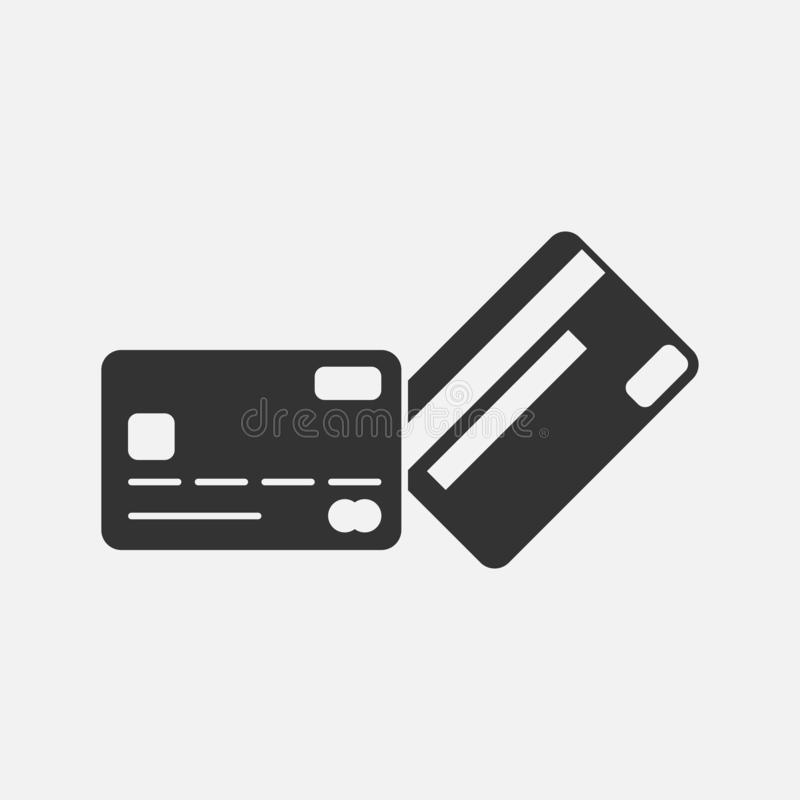 Kreditkarteikone, Karte, ATM, Geld stock abbildung