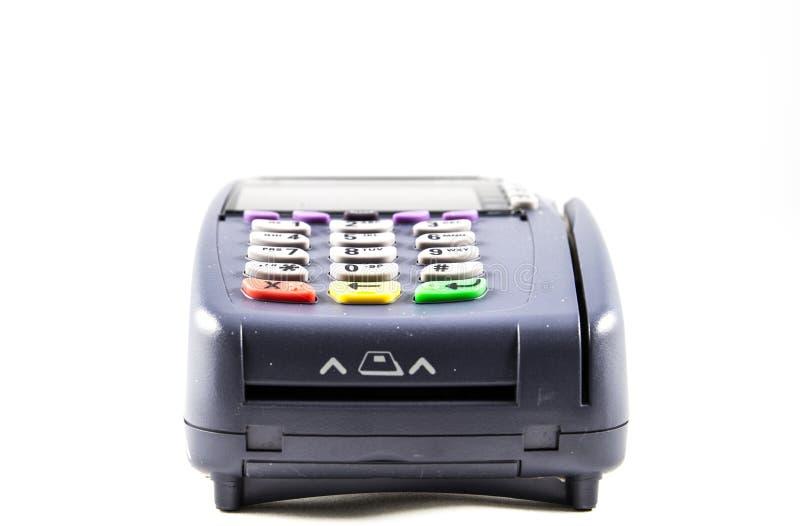 Kreditkartenleser stockfoto