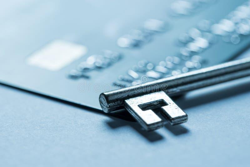 Kreditkarteon-line-Einkaufszahlung stockbild