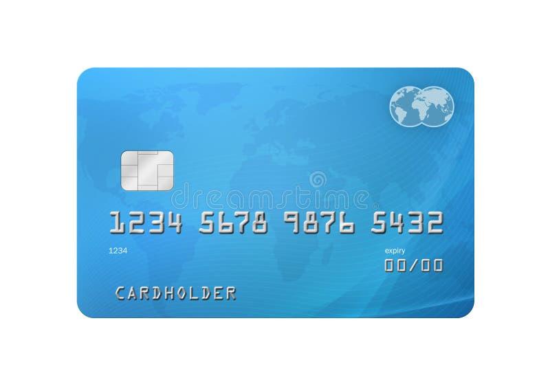 Kreditkort vektor illustrationer