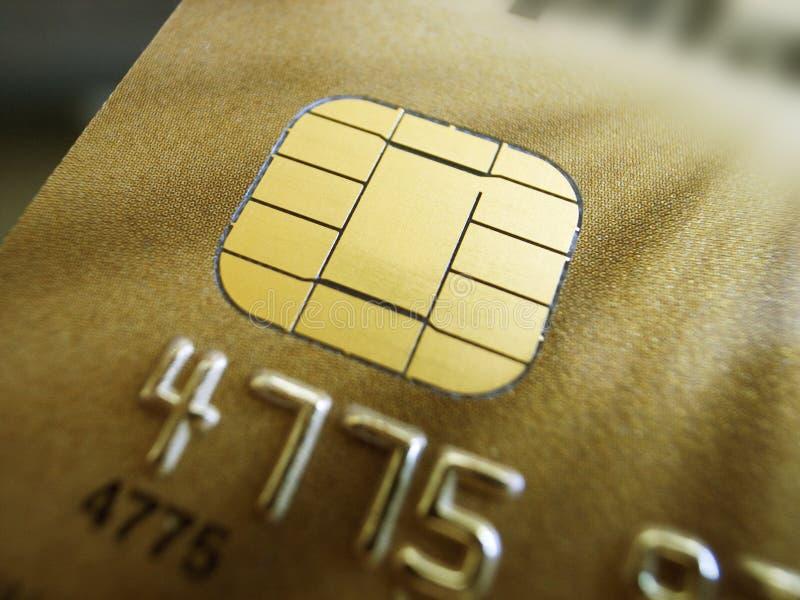 Kreditkortsäkerhet royaltyfria foton