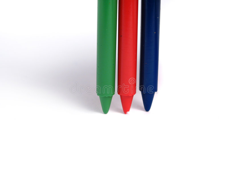 kredki rgb kolor fotografia stock