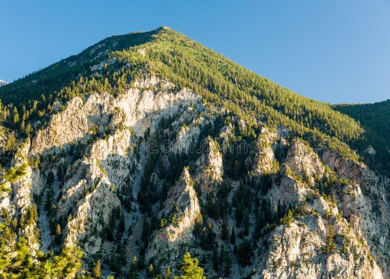 Kredowe falezy Mt Princeton Kolorado obraz royalty free