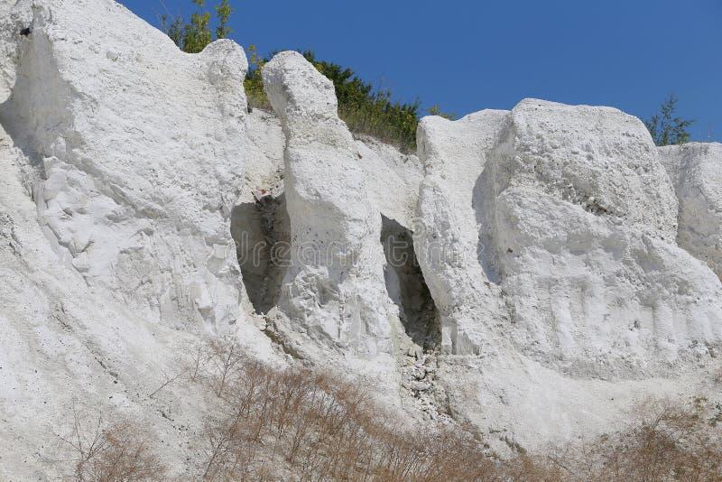 Kredowe góry zdjęcia stock