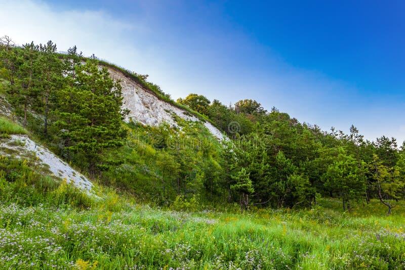 Kredowy wzgórze zdjęcie stock