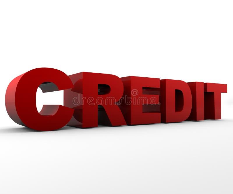 kredyt royalty ilustracja