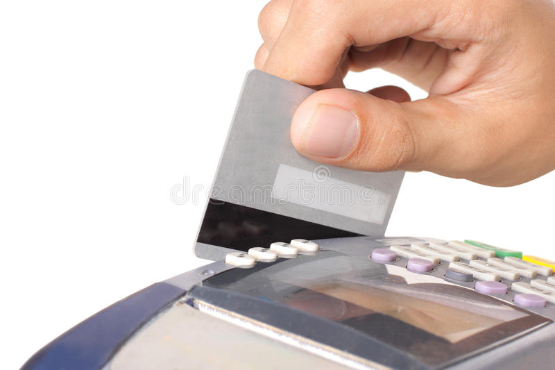 kredyt karciana maszyna obrazy royalty free