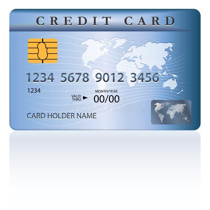 Kredyt Lub Karta Debetowa Projekt Obraz Stock