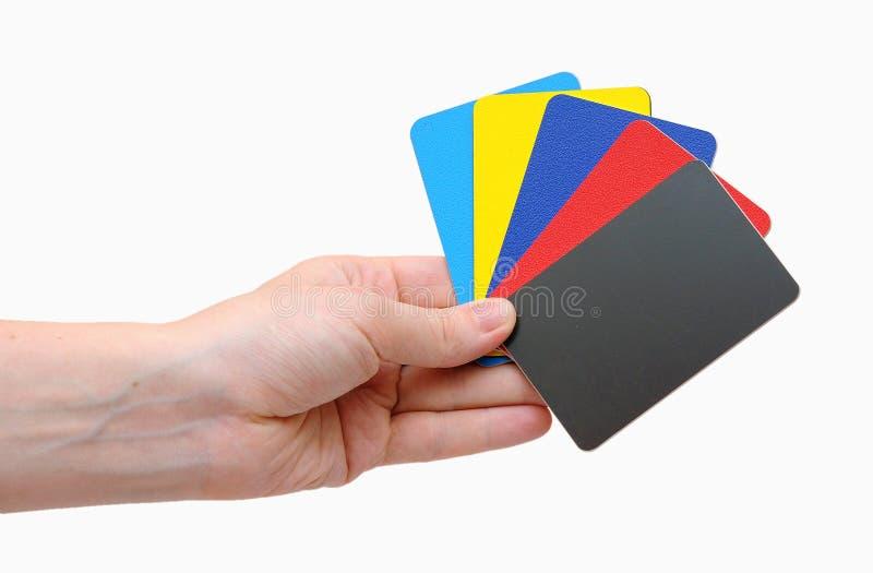 Kredytowe karty obrazy stock
