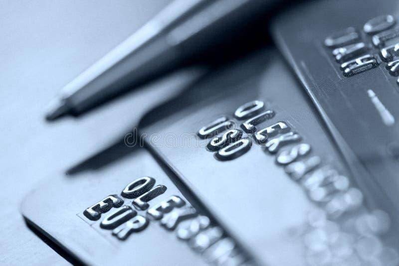 Kredytowe karty obraz royalty free