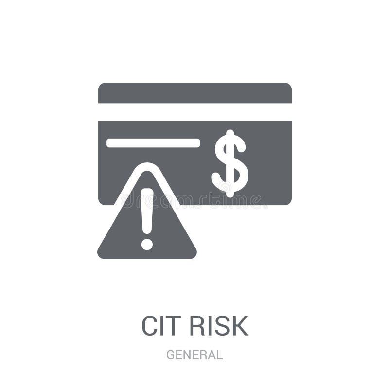 kredytowego ryzyka ikona  ilustracji