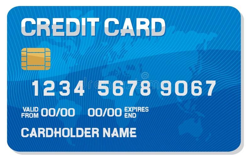 Kredytowej karty ikona ilustracja wektor