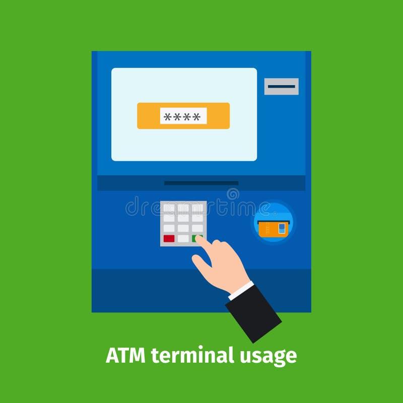 Kredytowy klingeryt karty użycie ilustracji