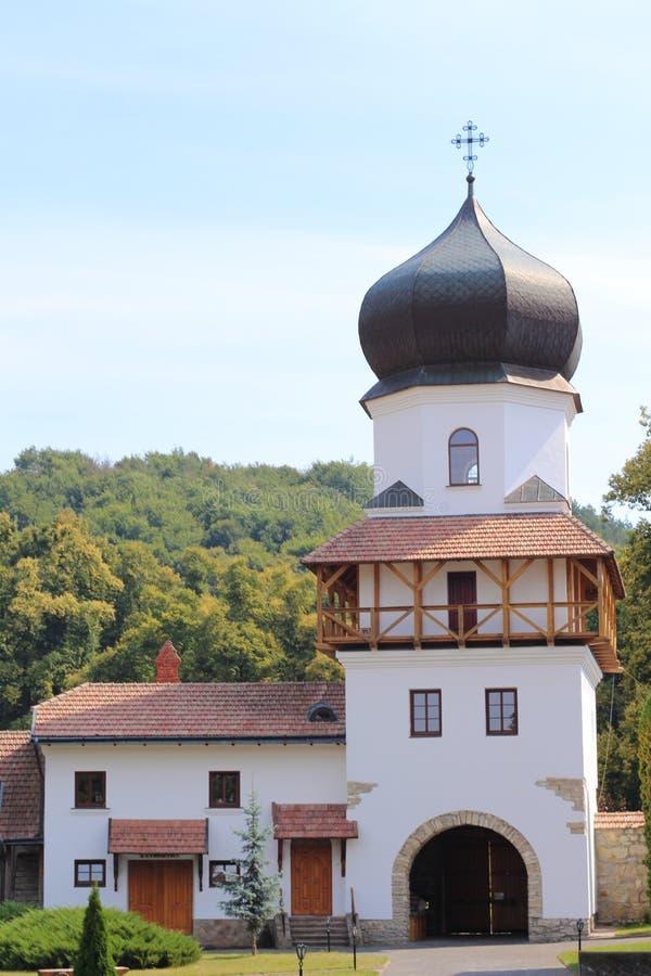 Krehivskyy-Kloster nahe Lvov, Ukraine stockfoto