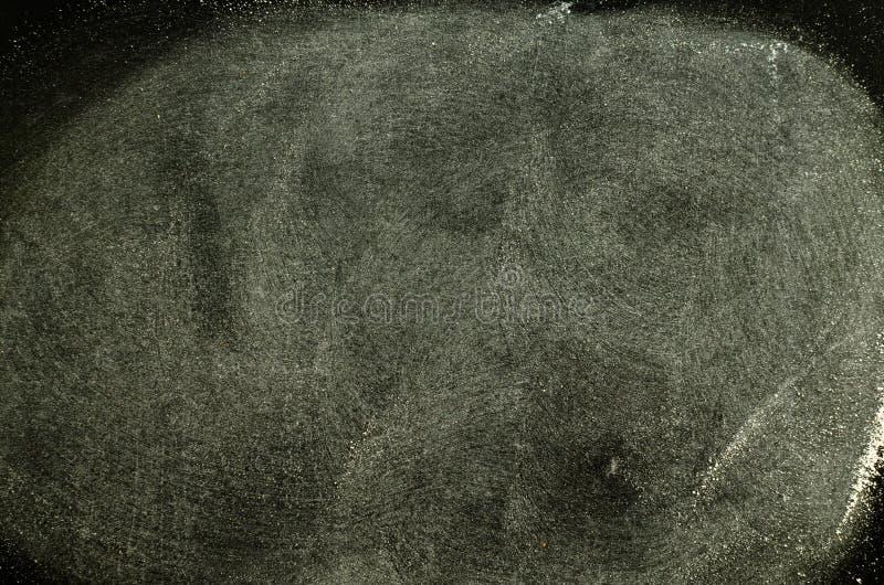 Kreide gerieben heraus auf Tafel lizenzfreie stockfotografie