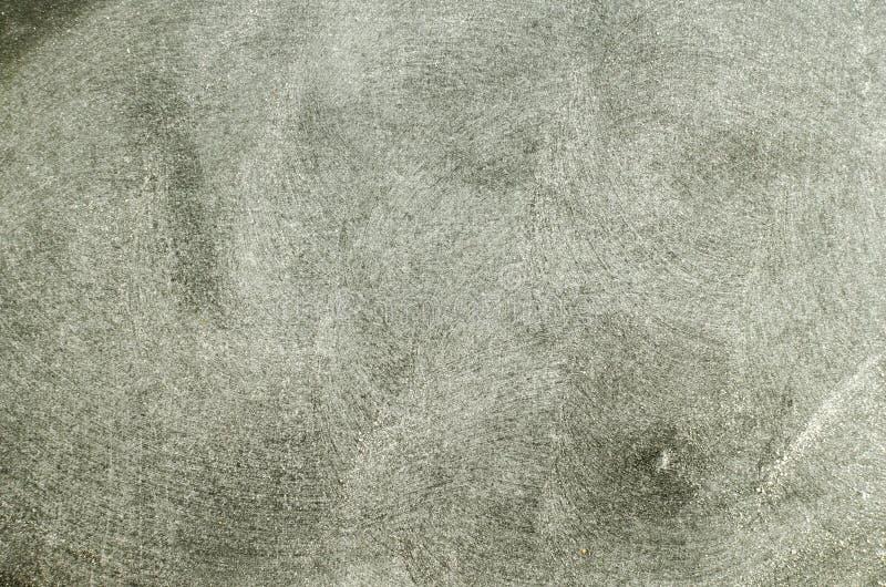 Kreide gerieben heraus auf Tafel stockfotos