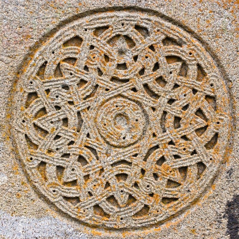 Download Kreis Des Dekorativen Steins Stockbild - Bild von geschnitzt, gealtert: 27725907