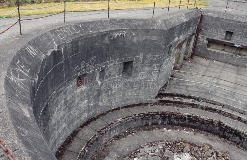 Kreis-Gewehr-Berg stockbild