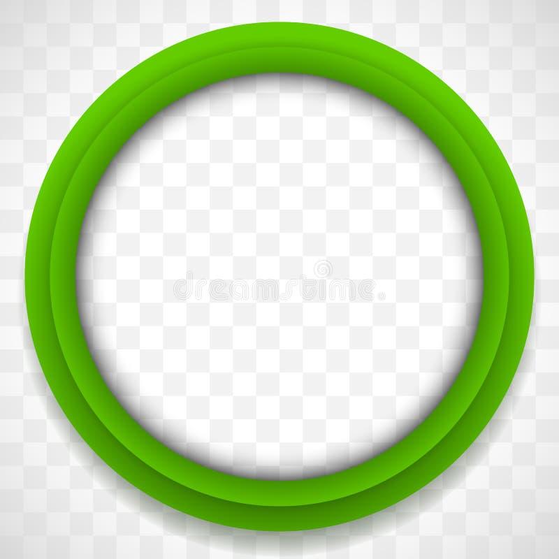 Kreis-Ikone Bunter Ikonenhintergrund Abstrakte Linse lizenzfreie abbildung