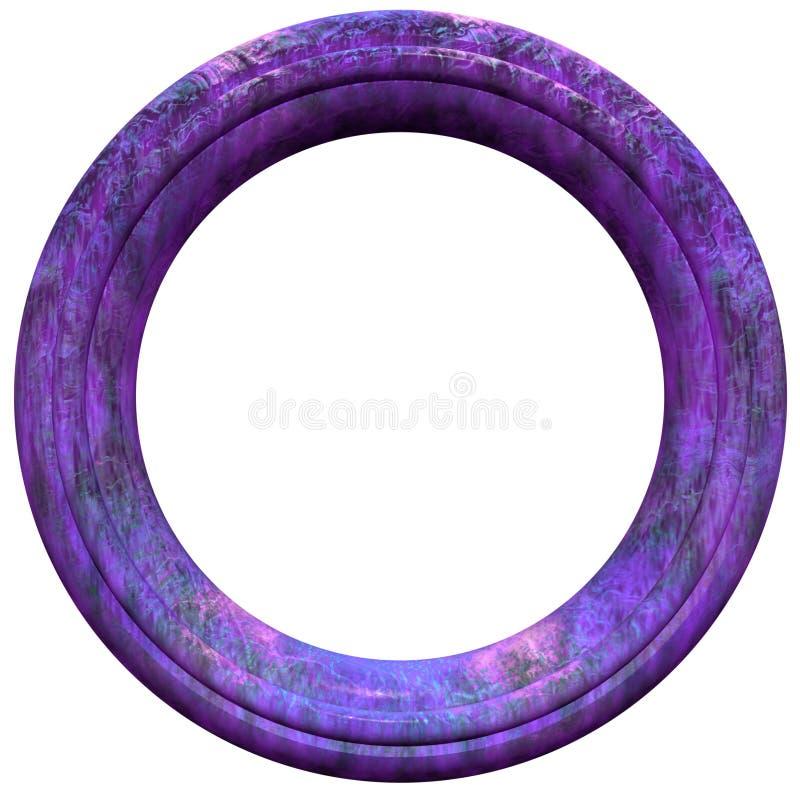 Kreisbilderrahmen lizenzfreie abbildung