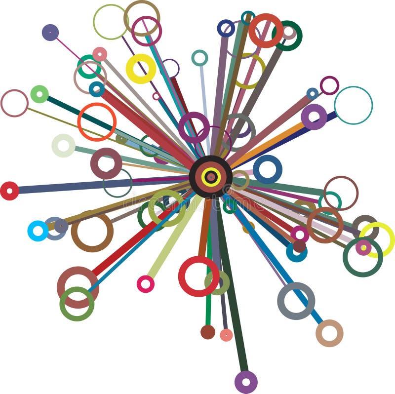 Kreise vektor abbildung
