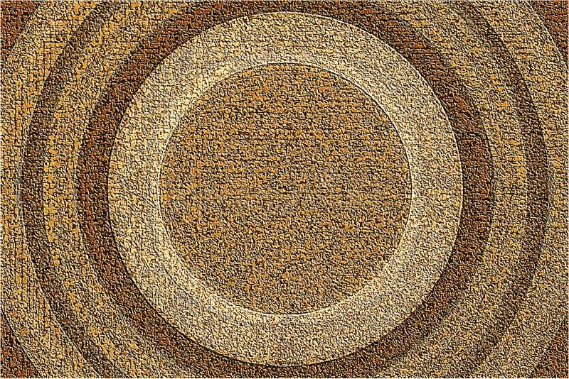 Kreisförmiger strukturierter Hintergrund lizenzfreies stockfoto