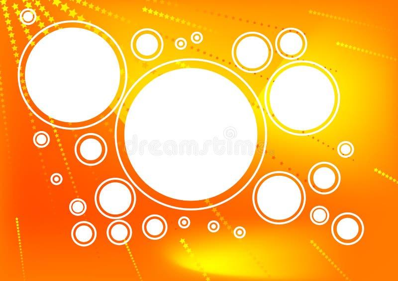 Kreishintergrund stock abbildung