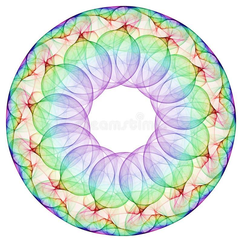 Kreiskreis stock abbildung