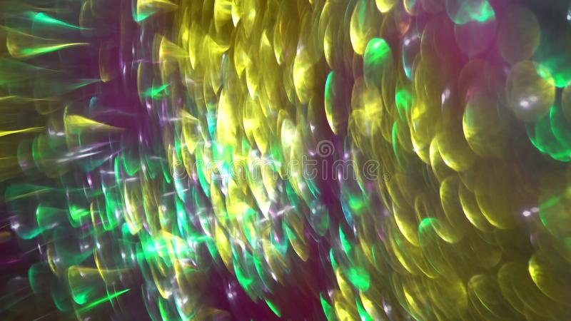 Kreisreflexionen der defocused Ansicht der bunten Lichter lizenzfreie stockfotos