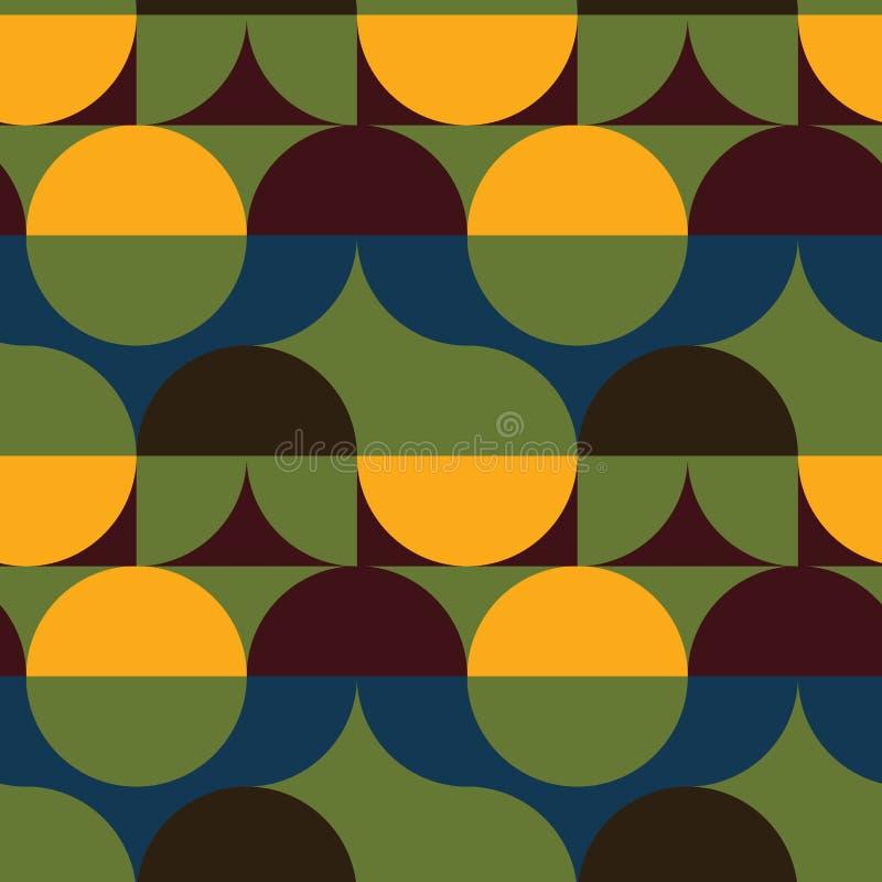 Download Kreist Nahtloses Muster Der Illusion Ein Vektor Abbildung - Illustration von muster, gewebe: 106802597