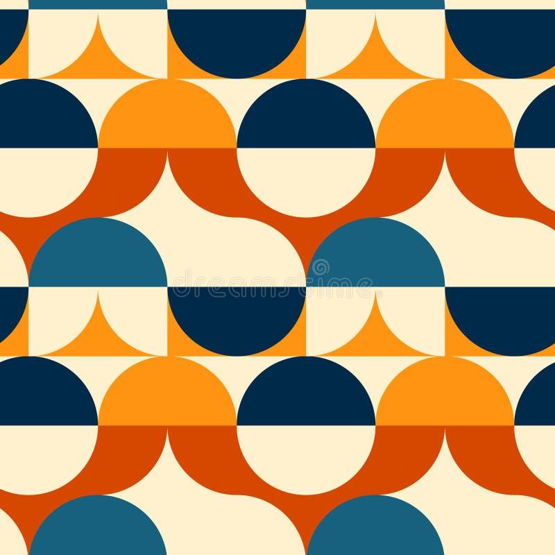 Download Kreist Nahtloses Muster Der Illusion Ein Vektor Abbildung - Illustration von auszug, auslegung: 106802651