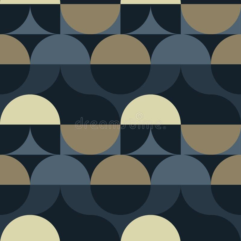 Download Kreist Nahtloses Muster Der Illusion Ein Vektor Abbildung - Illustration von bunt, auszug: 106802974