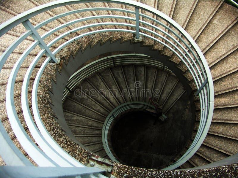 Kreistreppen stockfoto