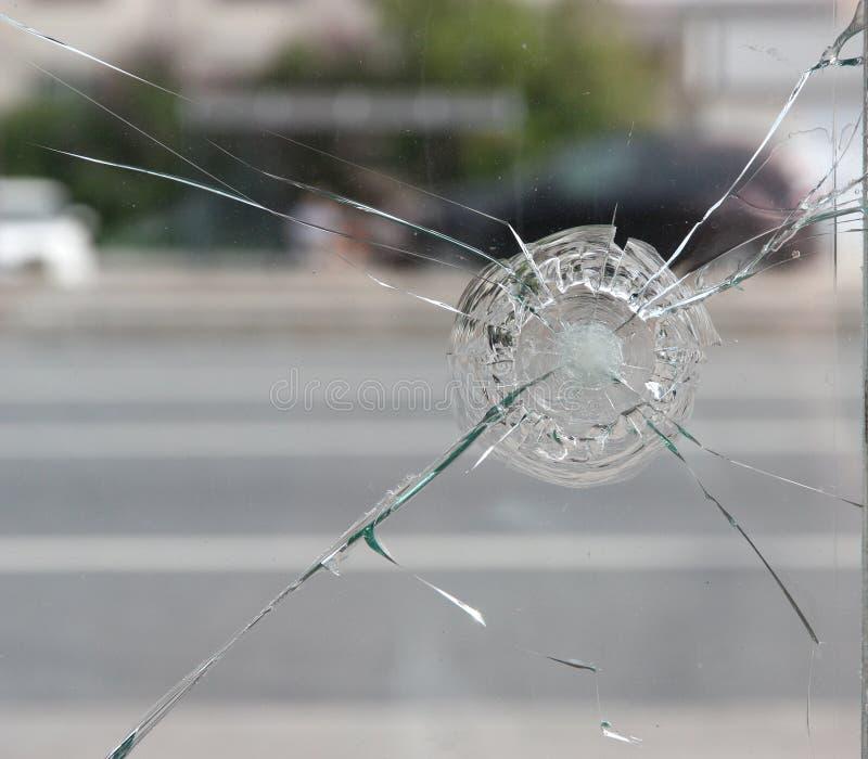 krekingowy szkło obrazy stock