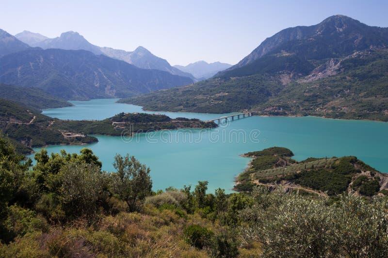 kremaston λίμνη στοκ εικόνες