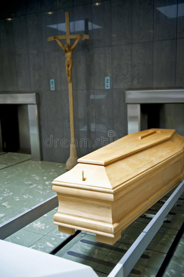Krematorium lizenzfreie stockbilder