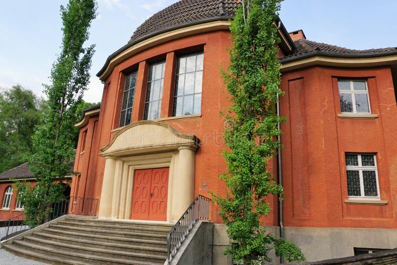 Krematorium i tuttlingen royaltyfria bilder