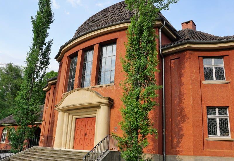Krematorium i tuttlingen royaltyfri bild