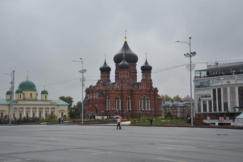 Kreml在图拉,老城市 库存照片