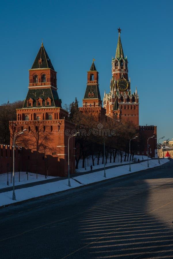 Kreml i Moskva royaltyfri bild