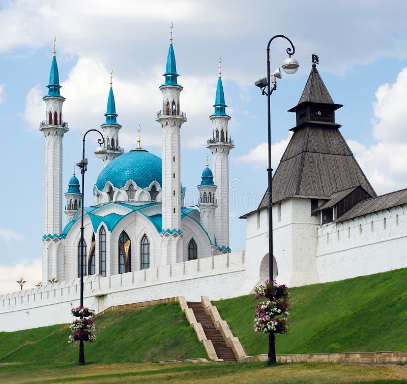 Kreml - kazan - Rússia fotografia de stock
