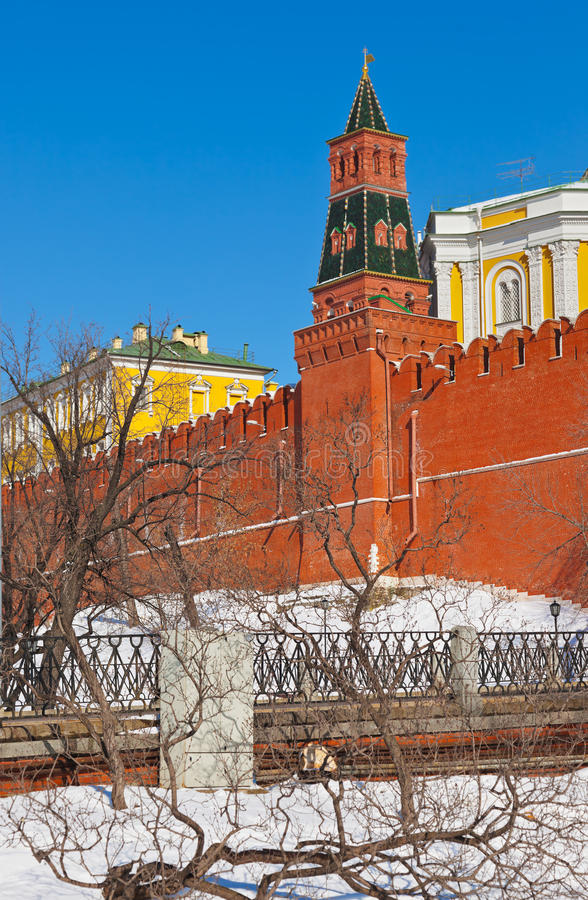 Kremlin à Moscou (Russie) photos libres de droits