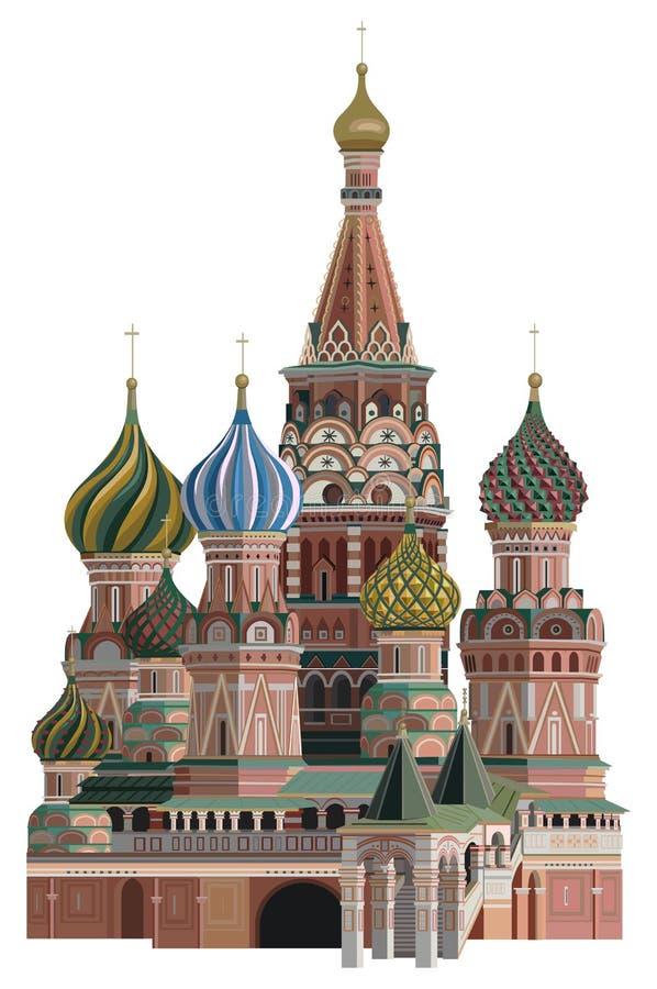 Kremlin illustration stock