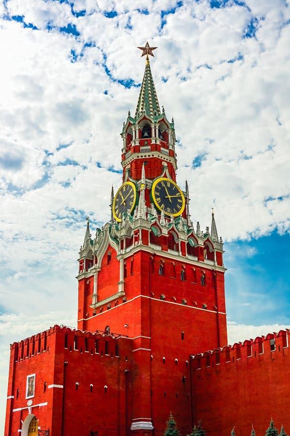 Kremlin antigo de Moscou imagem de stock royalty free