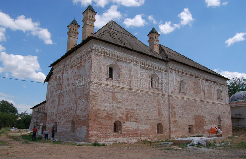 Kremlin (citadel) of Astrakhan royalty free stock images