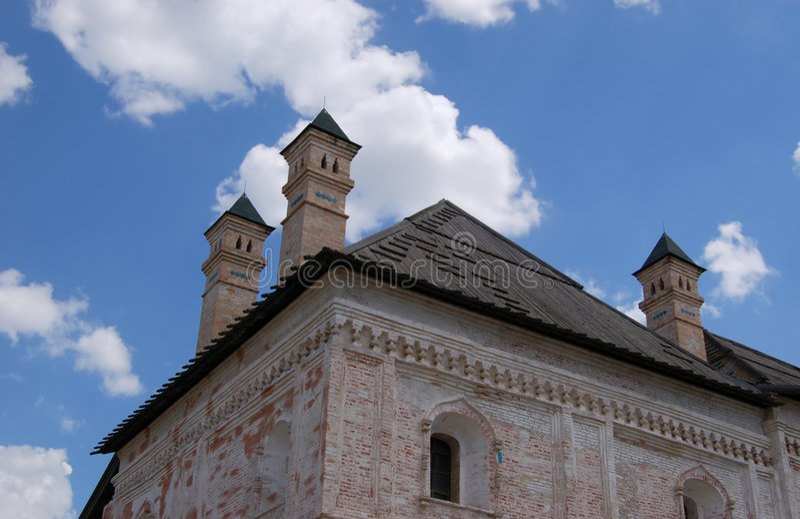 Kremlin (citadelle) de l'Astrakan photographie stock