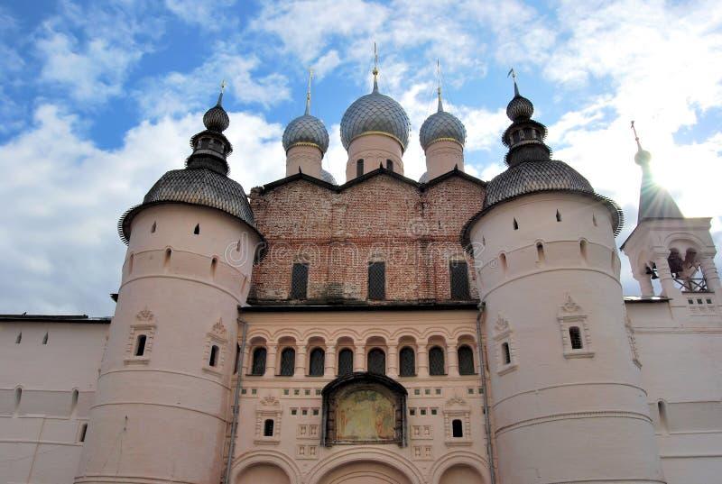 Kremlin dans Rostov grand photo stock