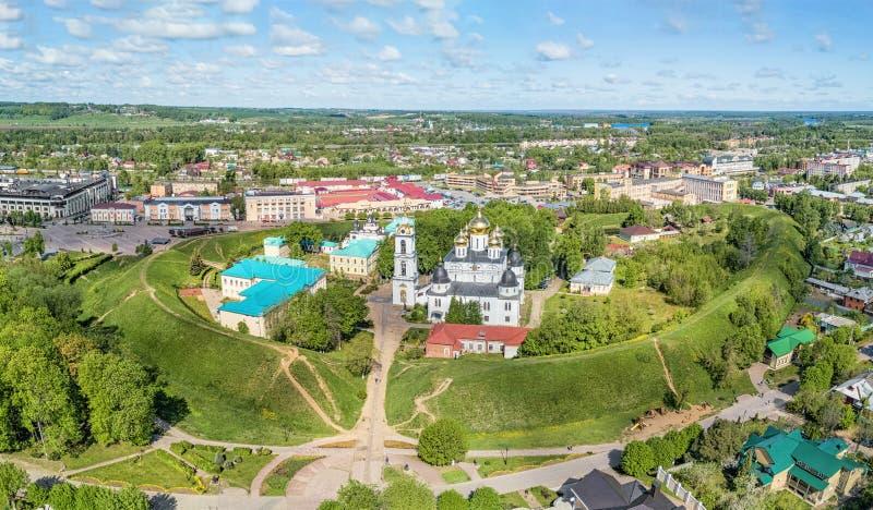 Kremlin de Dmitrovsky em Dmitrov, Rússia imagens de stock royalty free