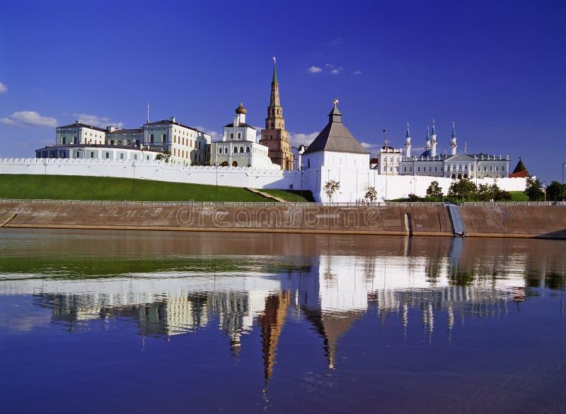Kremlin de Kazan fotografia de stock