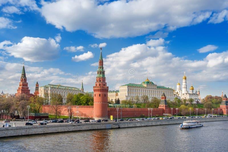 Kremlin de Moscou, Federação Russa fotografia de stock